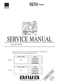 Service Manual Supplement Aiwa D27U
