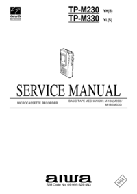 Руководство по техническому обслуживанию Aiwa TP-M330 YL(S)