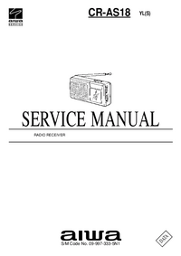 Manual de servicio Aiwa CR-AS18 YL(S