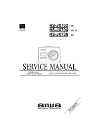 Servicehandboek Aiwa HS-JX704 YH
