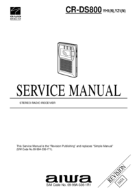Service Manual Aiwa CR-DS800 YH1(N)