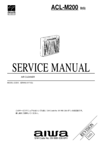 Manual de servicio Aiwa ACL-M200 D(G)