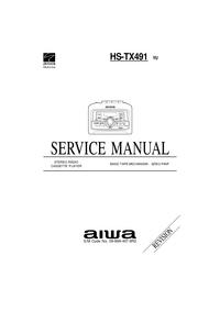 Serviceanleitung Aiwa HS-TX491 YU