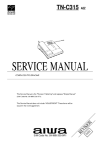 Service Manual Aiwa TN-C315 AEZ