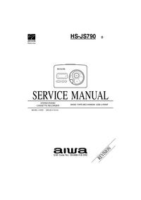 Руководство по техническому обслуживанию Aiwa HS-JS790 D