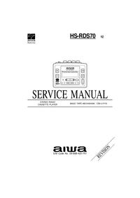 Manual de serviço Aiwa HS-RDS70 YZ