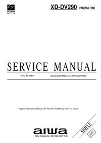 Service Manual Aiwa XD-DV290 HRJ(N)