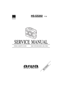 Service Manual Aiwa HS-GS202 Y