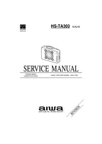 Manuale di servizio Aiwa HS-TA303 YZ