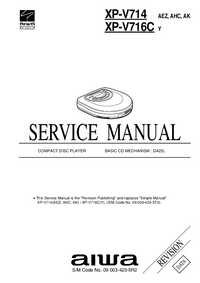 Service Manual Aiwa XP-V714 AEZ