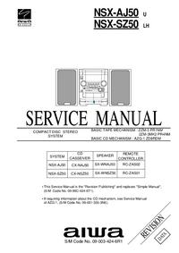 Service Manual Aiwa NSX-AJ50