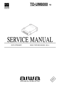 Service Manual Aiwa TD-UM8000