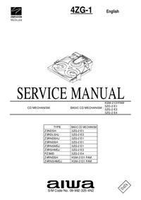 Manual de servicio Aiwa KSM-2131FAM
