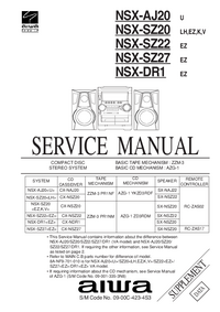 Service Manual Aiwa SX-NSZ20