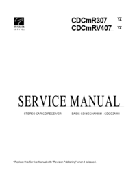 Manual de servicio Aiwa CDC-R307