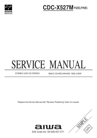 Service Manual Aiwa CDC-X527M