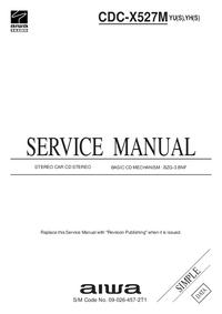 Servicehandboek Aiwa CDC-X527M