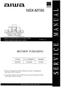 Manual de serviço Aiwa NSX-MT90