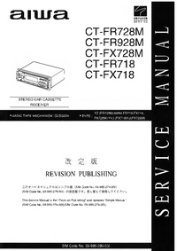Manual de servicio Aiwa CT-FX728M