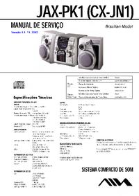 Serviceanleitung Aiwa JAX-PK1 (CX-JN1)