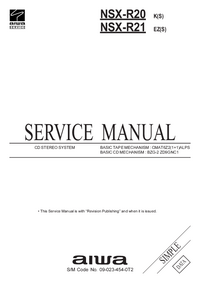 Service Manual Aiwa NSX-R20