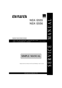 Service Manual Aiwa NSX-S555
