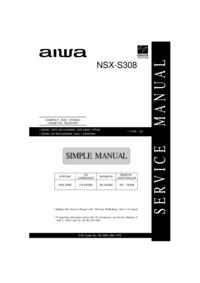 manuel de réparation Aiwa NSX-S308