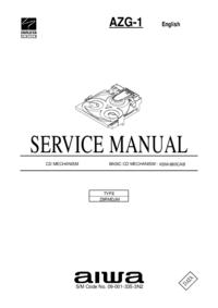 Manual de serviço Aiwa AZG-1