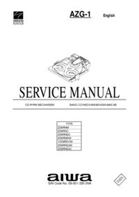 manuel de réparation Aiwa AZG-1 ZD8RNDJC