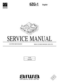 Manual de serviço Aiwa 6ZG-1 SRTDM