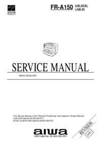 Manual de servicio Aiwa FR-A150 LH(B,W)