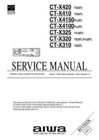 Service Manual Aiwa CT-X4150YL(ST)
