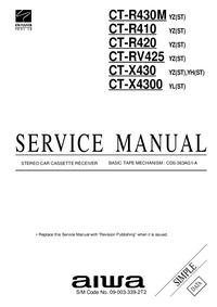 Service Manual Aiwa CT-X430 YH(ST)