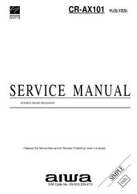 Manuale di servizio Aiwa CR-AX101 YL(S)