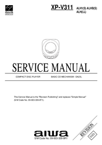Manual de servicio Aiwa XP-V311 ALH1(S)
