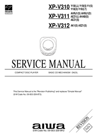 Service Manual Aiwa XP-V312 AEZ1(S)