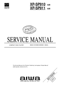 Service Manual Aiwa XP-SP911 AUB