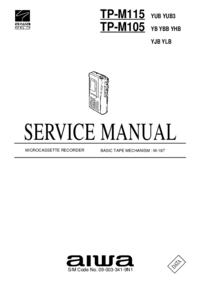 Servicehandboek Aiwa TP-M115 YUB