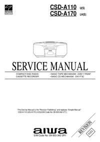Manual de serviço Aiwa CSD-A170 LH(S)