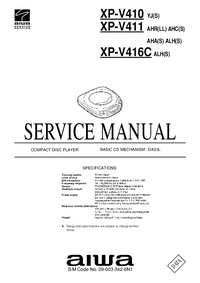 Manual de servicio Aiwa XP-V411 ALH(S)