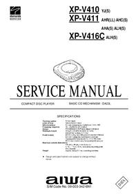 Manual de servicio Aiwa XP-V411 AHR(LL)
