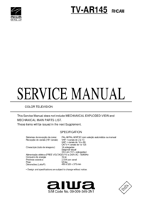 Service Manual Aiwa TV-AR145