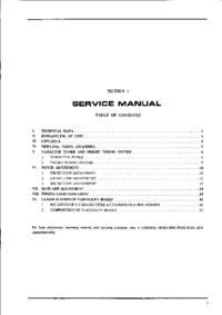 Service Manual Akai AA 1010