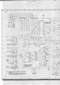 Cirquit Diagram Akai CS-FII