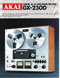 Katalog Akai GX-230D