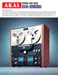 Katalog Akai GX-260D