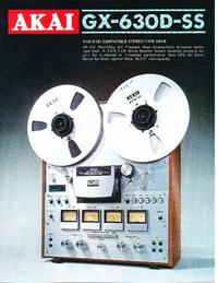 Catalogue Akai GX-630D-SS