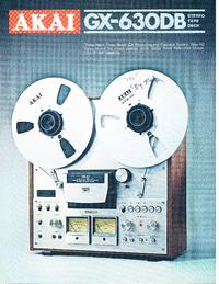 Catalog Akai GX-630DB