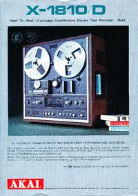 Catalogue Akai X-1810D