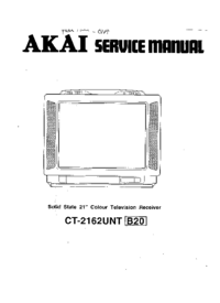 Cirquit Diagram Akai CT-2162